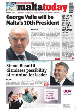 MALTATODAY 30 January 2019 Midweek