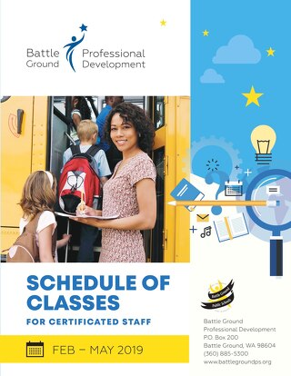 Certificated Schedule of PD Classes