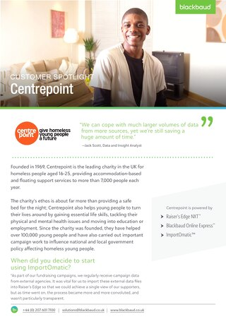 Centrepoint | Customer Spotlight
