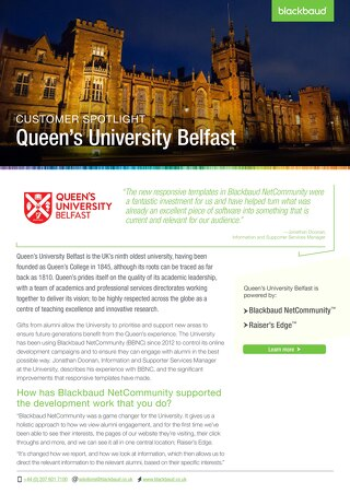 Queen's University Belfast | Customer Spotlight