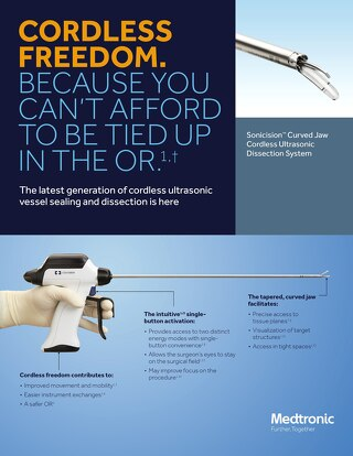 Information Sheet: Sonicision™ Curved Jaw Ultrasonic Dissection System