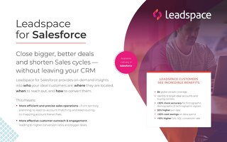Leadspace for Salesforce