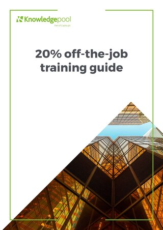 20% off the job training guide