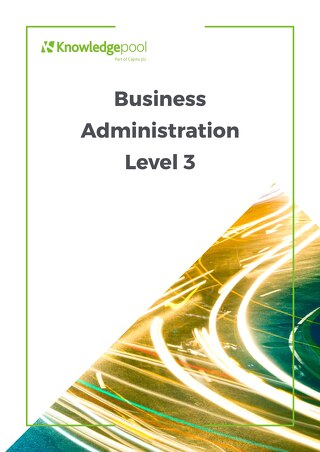 Business Administration Level 3 - Overview