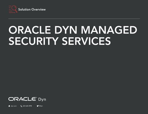 Oracle Dyn Managed Security Services