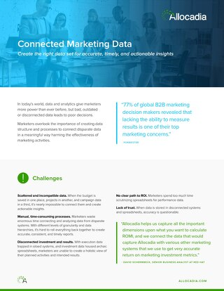 Marketing Connected Data
