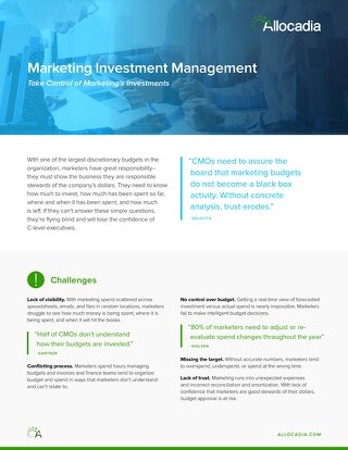 Marketing Investment Management