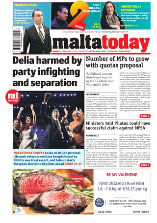 MALTATODAY 3 February 2019