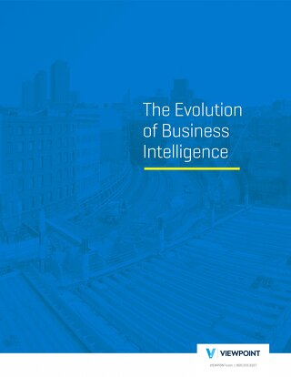 The Evolution in Business Intelligence