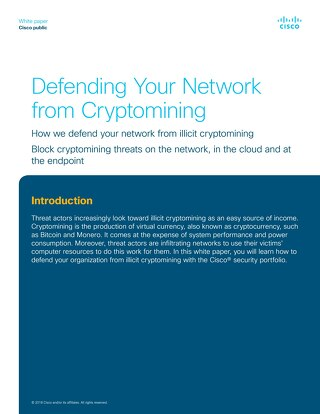 Defending Your Network from Cryptomining