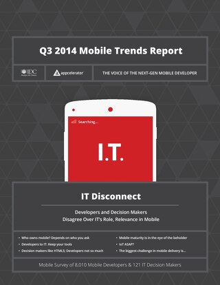Q3 2014 Mobile Trends Report