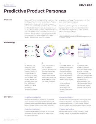 Persona Model Quick Guide