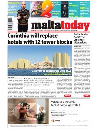 Maltatoday 13.01.19