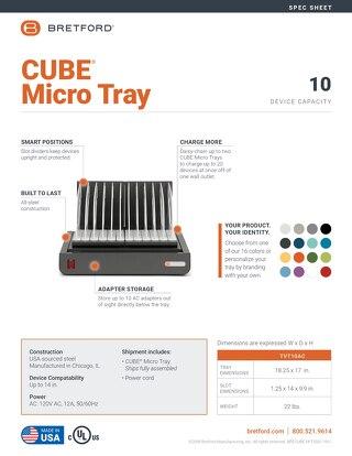 CUBE Micro Tray