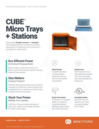 CUBE Micro Trays & Stations