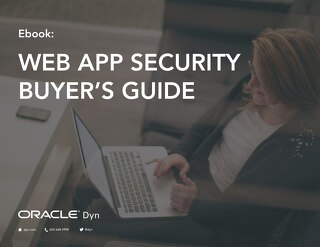 Web Application Security Buyers Guide