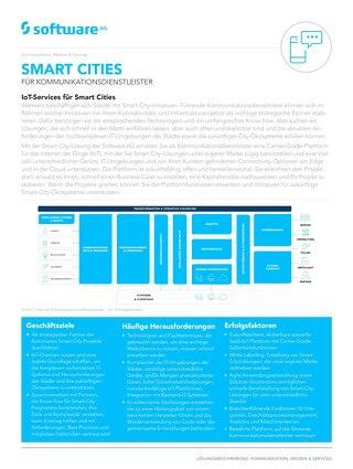 Smart Cities für Kommunikationsdienstleister