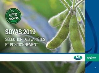 Soyas 2019 Sélection des variétés et positionnement