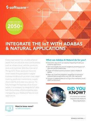 Integrate the IoT with data in your Adabas & Natural apps