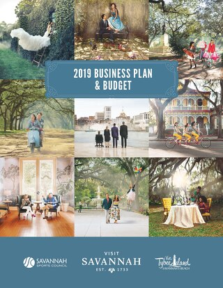 2019 Business Plan Visit Savannah