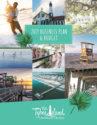 2019 Business Plan Visit Tybee