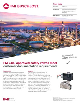 IMI Buschjost 884490 Case Study