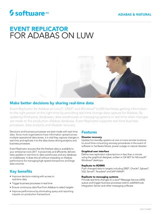 Event Replicator for Adabas on LUW