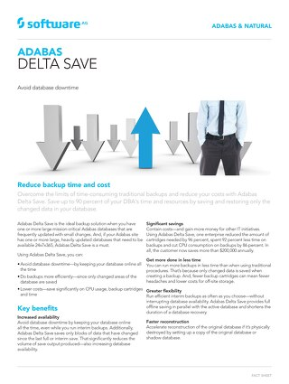 Adabas Delta Save