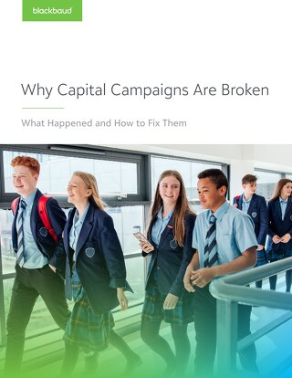 Why Capital Campaigns Are Broken