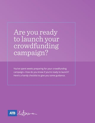 Crowdfunding 'Ready to Launch' Checklist