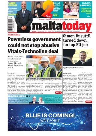 MALTATODAY 20 January 2019