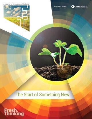 Fresh Thinking: The Start of Something New
