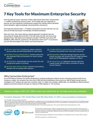 7 Key Tools for Maximum Enterprise Security