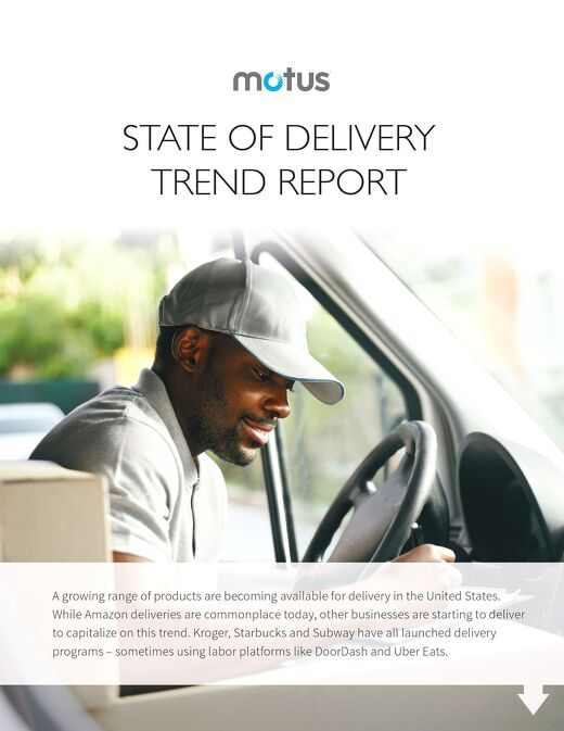 Motus State of Delivery Report