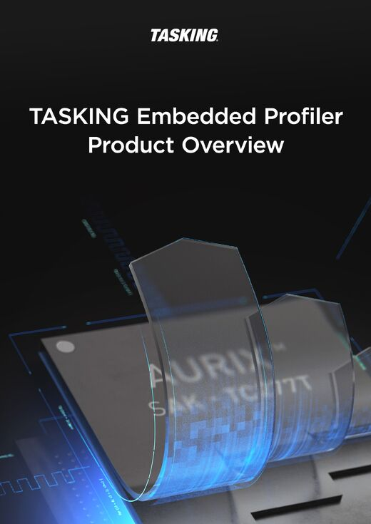 TASKING Embedded Profiler Product-Overview