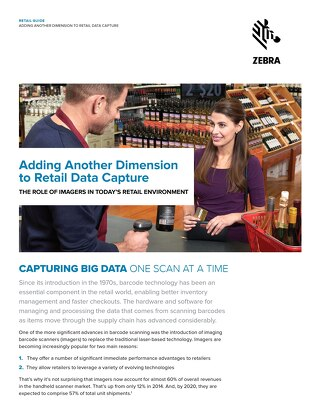 Retail 2D Scanners Guide