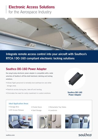 Southco DO-160 Power Adapter