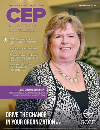 SCCE's Compliance and Ethics Professional Magazine: Your Code of Conduct Looks Great, but What Does It Do?