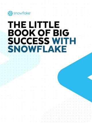 The Little Book of Big Success with Snowflake