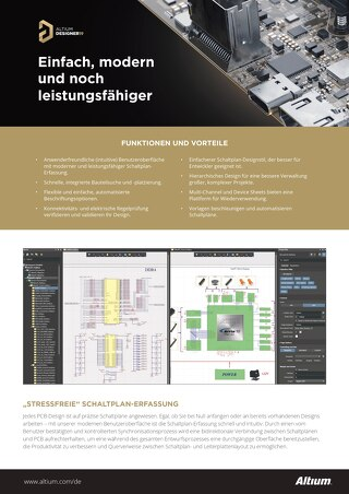 Altium Designer 19 Schaltplan Feature Set