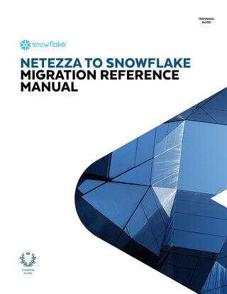 Netezza to Snowflake Migration Reference Manual