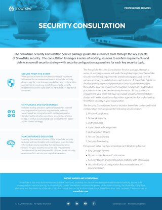 Security Consultation