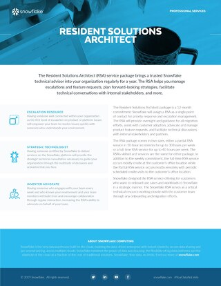 Resident Solutions Architect