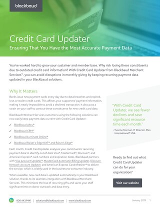 Credit Card Updater