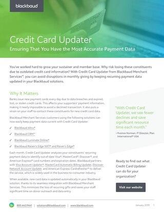 Credit Card Updater