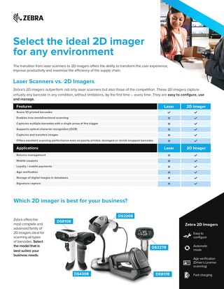 Select the Ideal Scanner from Zebra