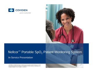 Nellcor™ PM10N Monitor Training Presentation [Learn More]
