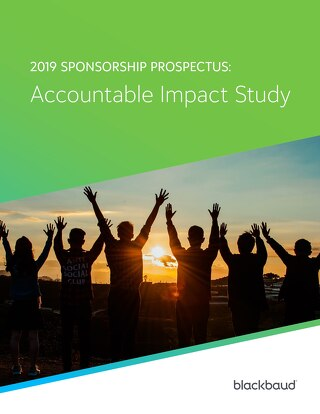 2019 Sponsorship Prospectus: Accountable Impact Study