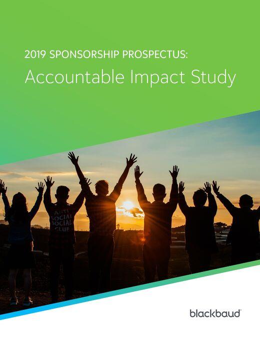 2019 Sponsorship Prospectus: Accountable Impact Study