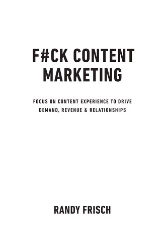 F#CK CONTENT MARKETING